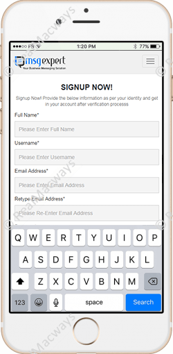 I Msg Expert – Send Bulk Messages to Selected Customers with
